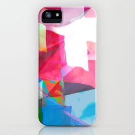 swissflag collage colorful iPhone Case