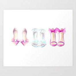 Shoes no 2 Art Print