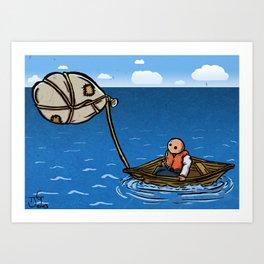 Alternative Travel Art Print