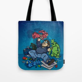 Boys and Their Toys Tote Bag