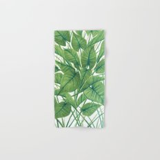Marlowe 1- Green Hand & Bath Towel