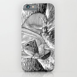 asc 677 - Les ailes du désir (The swain in disguise) iPhone Case
