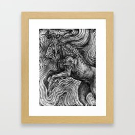 Horse Guardian Framed Art Print