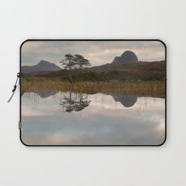 Suilven and Canisp Sunrise Laptop Sleeve