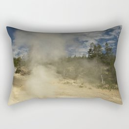Norris Geyser Basin - Beryl Spring Rectangular Pillow