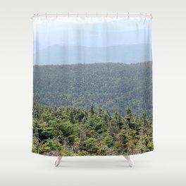 Layerscape Shower Curtain