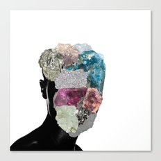 CrystalHead Canvas Print