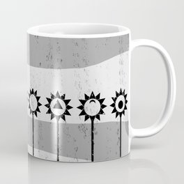 Tall Poppies Geometric Coffee Mug