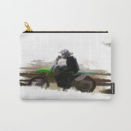 Dirt-biker - Motocross Racer Carry-All Pouch