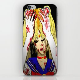 Bloody Sailor Moon iPhone Skin