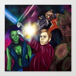 Guarding the Galaxy Canvas Print