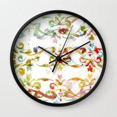 Arabesque pattern Wall Clock