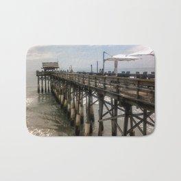 Cocoa Beach Pier Bath Mat