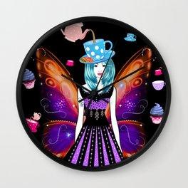 The TeaTime Fairy Wall Clock