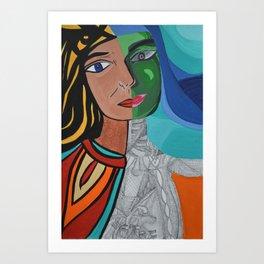 Inside/Outside Art Print