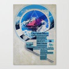 Olympus Mons - Exploration #3 Canvas Print