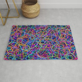 Scribble Synapse Rug