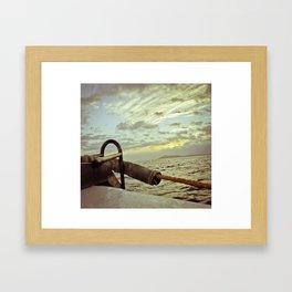 Sunset at the Bow Framed Art Print