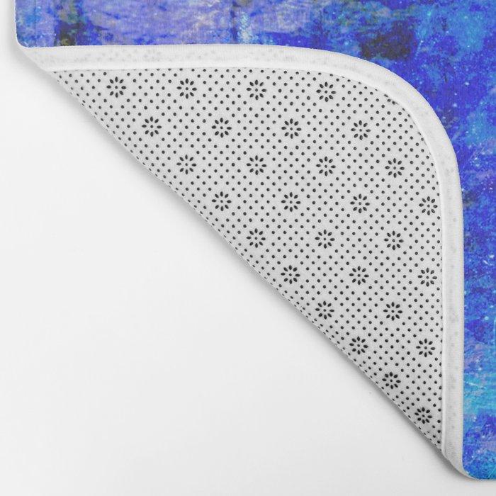 Sapphire Nebulæ Bath Mat