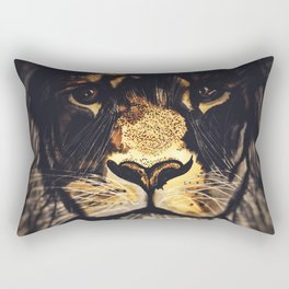 Noble Lion Rectangular Pillow