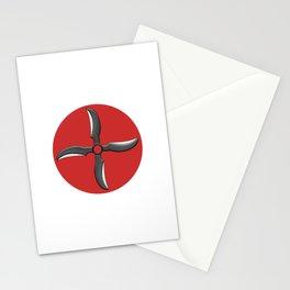 Demon Wind Shuriken Stationery Cards