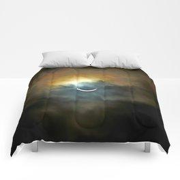 Solar Eclipse II Comforters