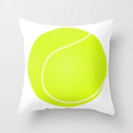 Tennis Ball Icon Throw Pillow
