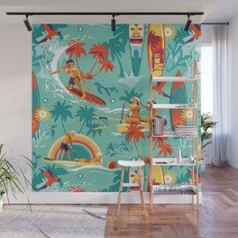 Hawaiian resort Wall Mural