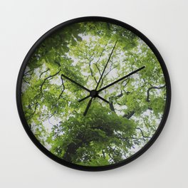 Up in the Trees Above Wall Clock