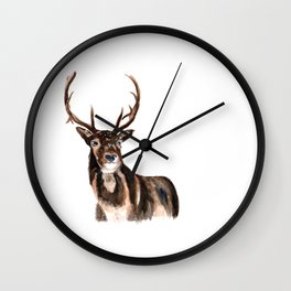 oh deer Wall Clock
