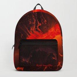 Hot Inside Backpack