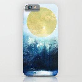 Winter Night 3 iPhone Case
