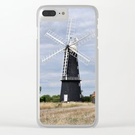 Sibsey Trader Windmill Clear iPhone Case
