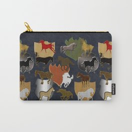 Horsing Around with Heraldry Carry-All Pouch