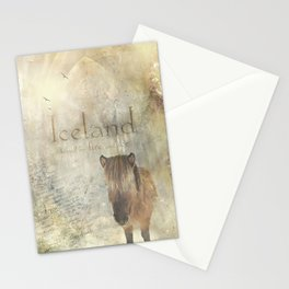 Iceland, forged by fire and ice Stationery Cards