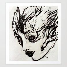Angel Face Art Print