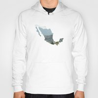 mexico Hoodies featuring Mexico by Isabel Moreno-Garcia