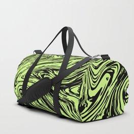 Marble pattern yellow pastel Duffle Bag