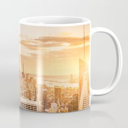 New York City- Empire State Building at sunset Coffee Mug