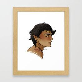 Raenor's Profile Framed Art Print
