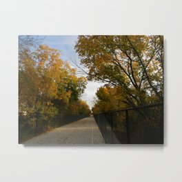 White Rock Lake Trail Metal Print