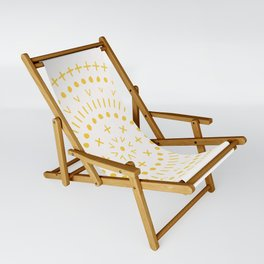 Radial - in Gold Sling Chair