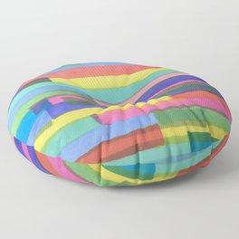 Happy Stripes Floor Pillow