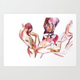 porn numb. 23 Art Print