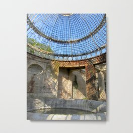 Alton Towers Green House  Metal Print
