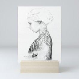 Onward and Inward Mini Art Print