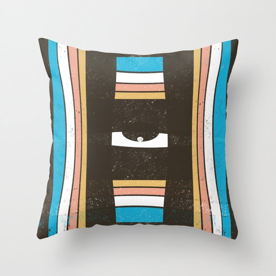 Next Dimension Throw Pillow