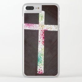 Let Light shine out of darkness Clear iPhone Case