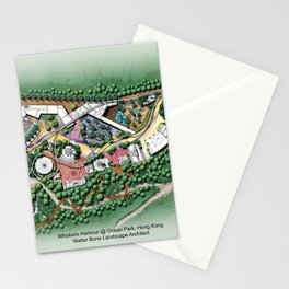 Whiskers Harbour @ Ocean Park Theme Park, Hong Kong Stationery Cards