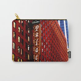 Vintage Chicago: Cadillac Palace theatre photography Carry-All Pouch